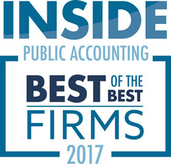 2017 Best-of-the-Best Inside Accounting Award