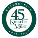 kreischer-miller-45-years-logo-final