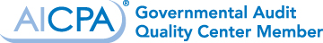 AICPA Government Audit Quality Center Member
