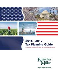 Kreischer Miller 2016-2017 Tax Planning Guide